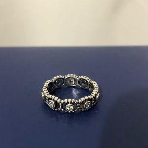 PANDORA Her Majesty Silver Ring